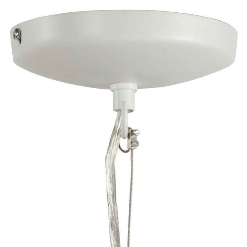 Lampe à suspension design PAON en métal (blanc) - image 17177