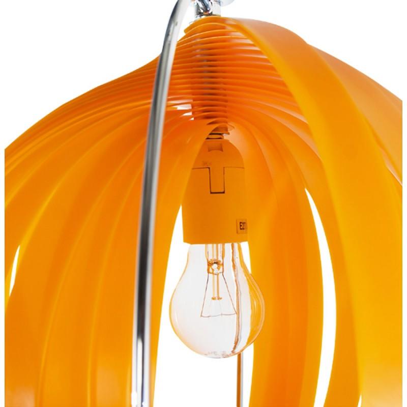 Lampe à suspension design MOINEAU en métal (orange) - image 17213