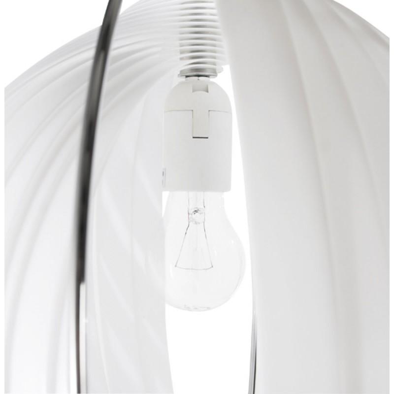 Lampe à suspension design MOINEAU en métal (blanc) - image 17221