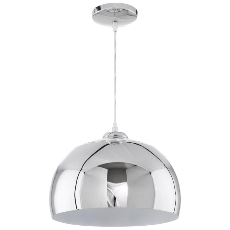 Lampe à suspension design ARRENGA en métal (chromé) - image 17258