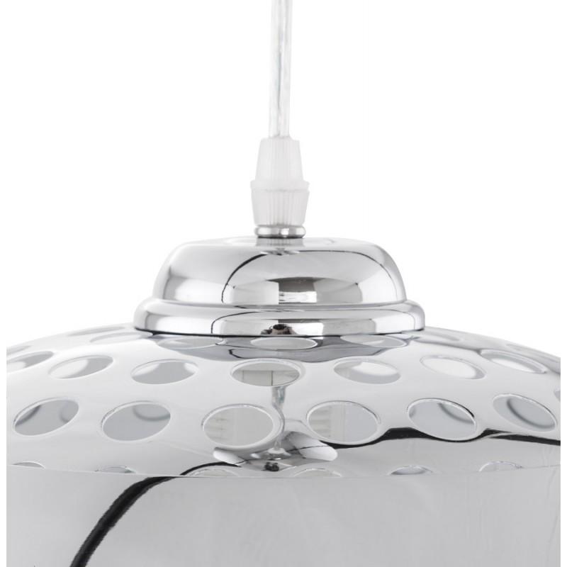 Lampe à suspension design ARRENGA en métal (chromé) - image 17260