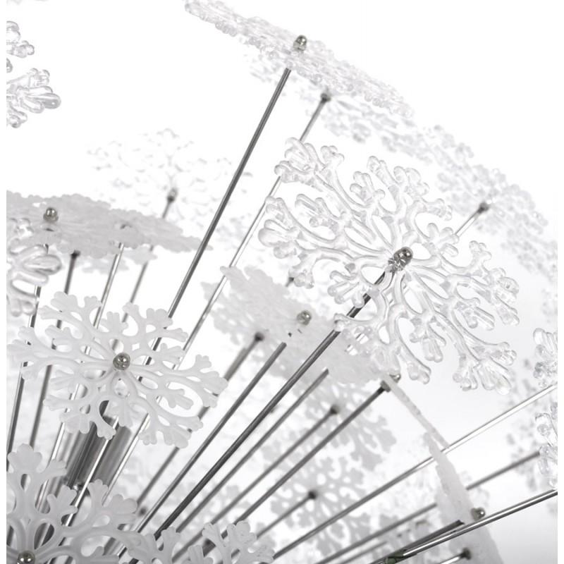 Lampe à suspension design ANABE en métal (chromé) - image 17275