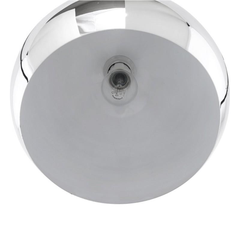 Lampe à suspension design ASTRILD en métal (chromé) - image 17289