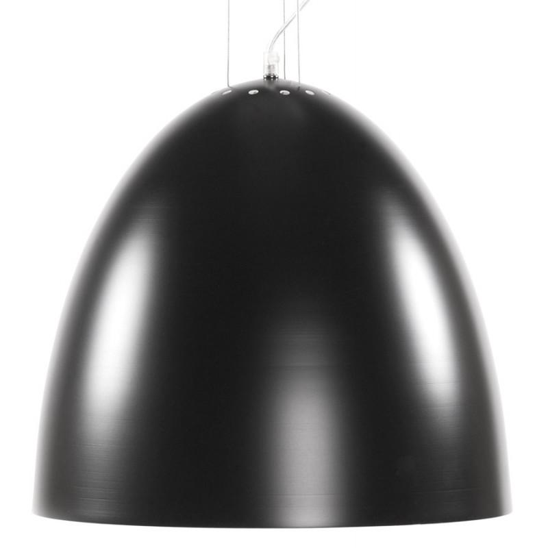 Lampada metallo design a sospensione BARBION (nero) - image 17293