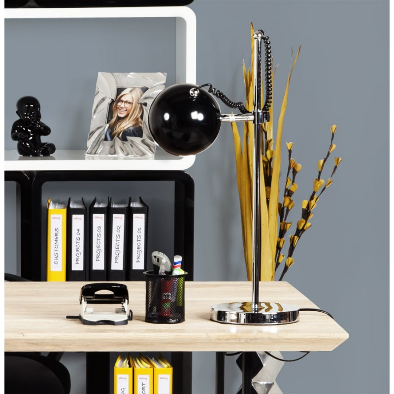 Design table BATARA metal lamp (black)  - image 17354