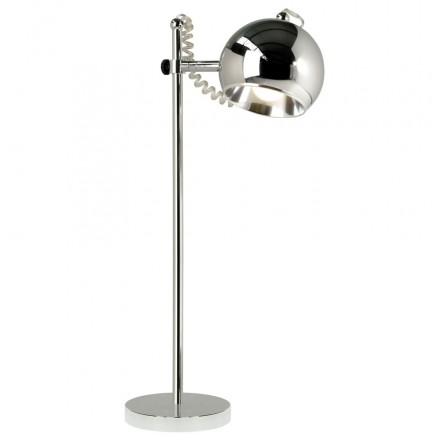 Design table lamp metal BATARA (Chrome)