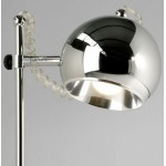 Design Tischlampe BATARA Metall (Chrom)