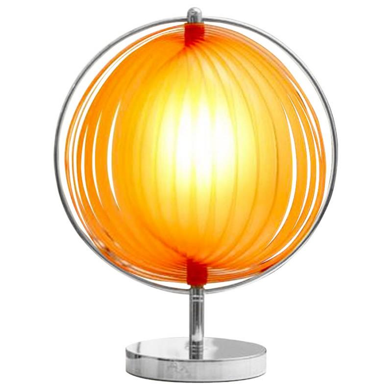 Lampe de table design BECHE SMALL en métal (orange)