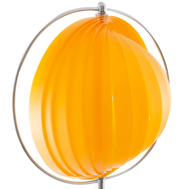 BECHE SMALL metal design table lamp (orange) - image 17397