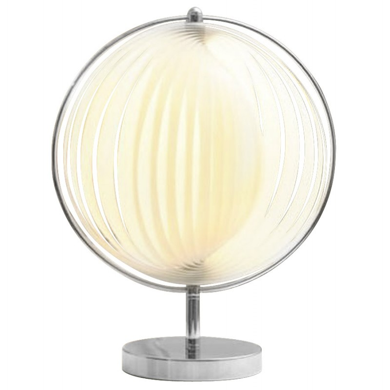 BECHE SMALL design metal table lamp (white) - image 17403
