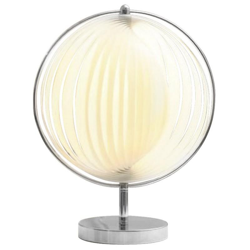 Lampe de table design BECHE SMALL en métal (blanc) - image 17403