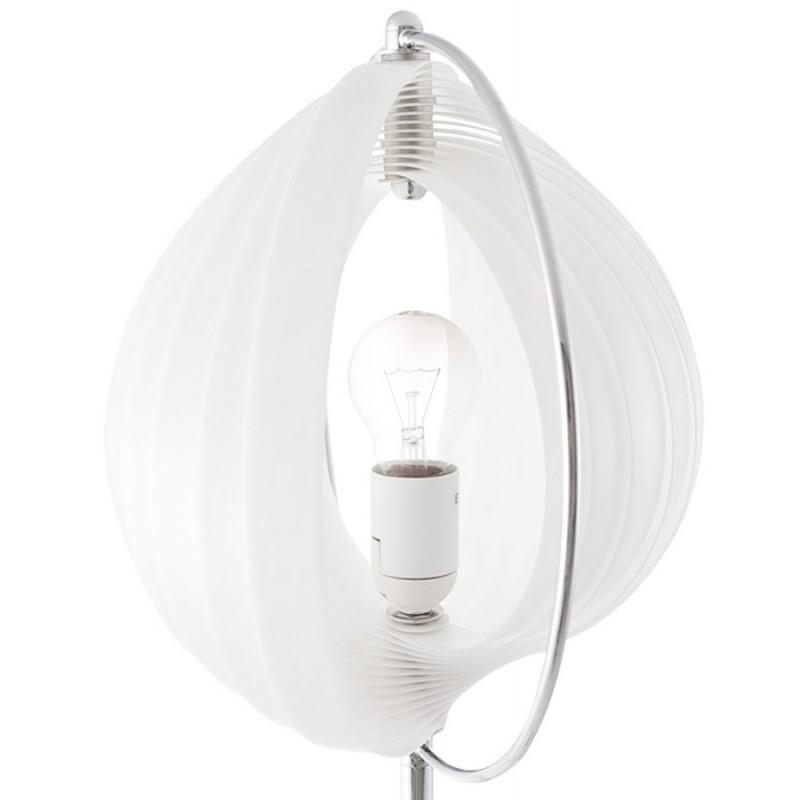 Lampe de table design BECHE SMALL en métal (blanc) - image 17407