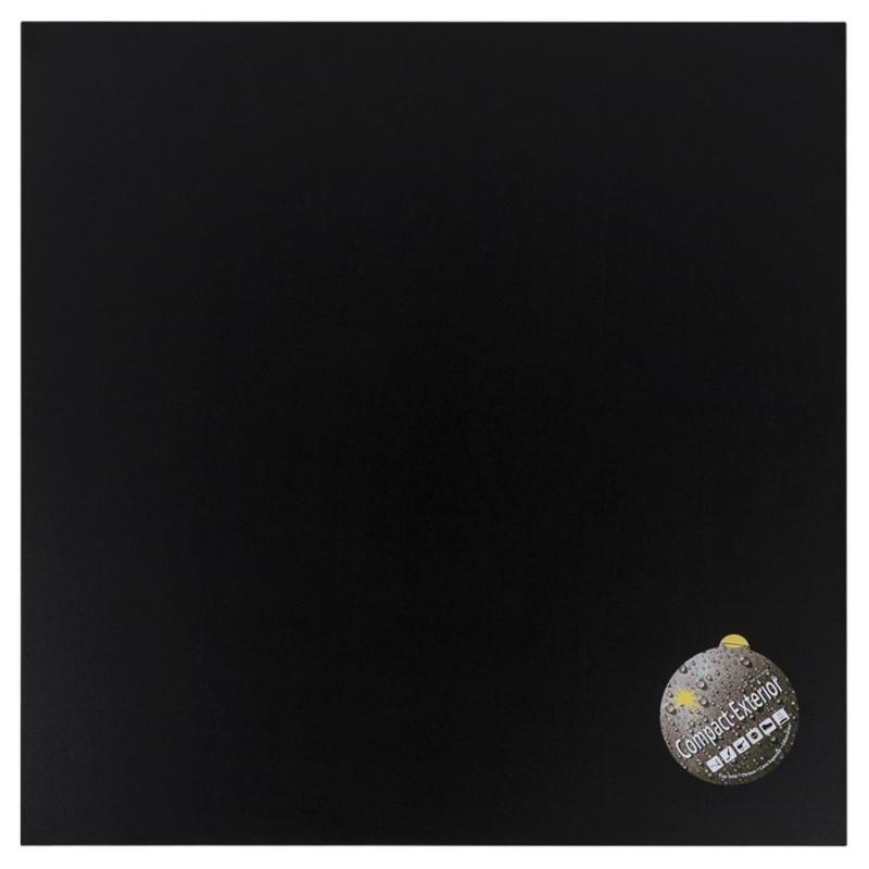 Plateau de table carré VERA en polymère (60cmX60cmX3cm) (noir)