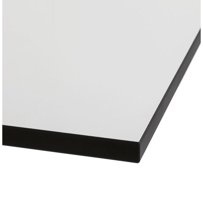 Piazza superiore del tavolo quadrato VERA polimero (60cmX60cmX3cm) (bianco) - image 17422