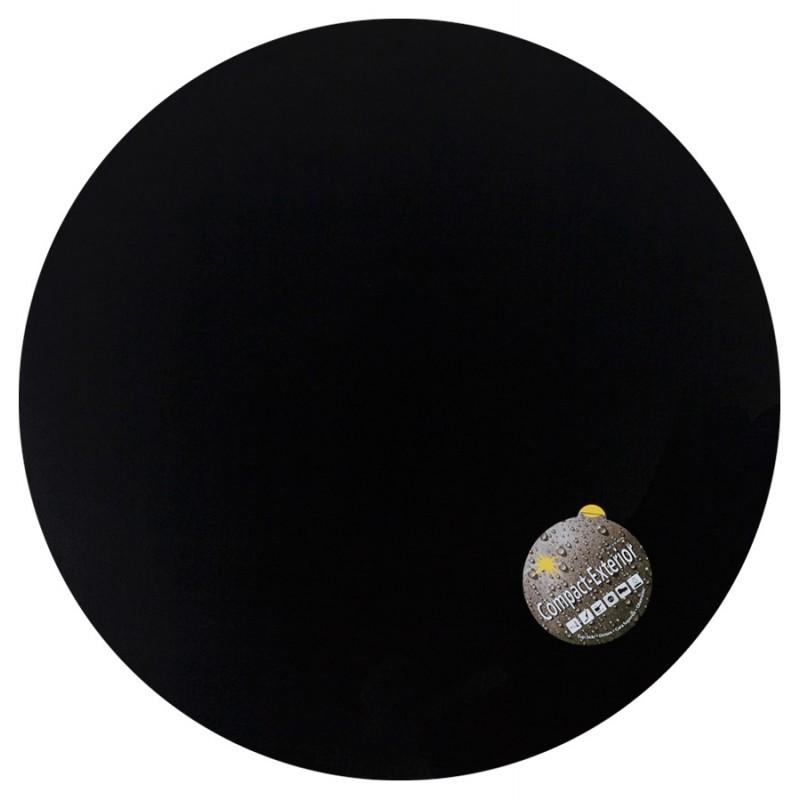 Plateau de table VERA rond en polymère (60cmX60cmX3cm) (noir) - image 17424