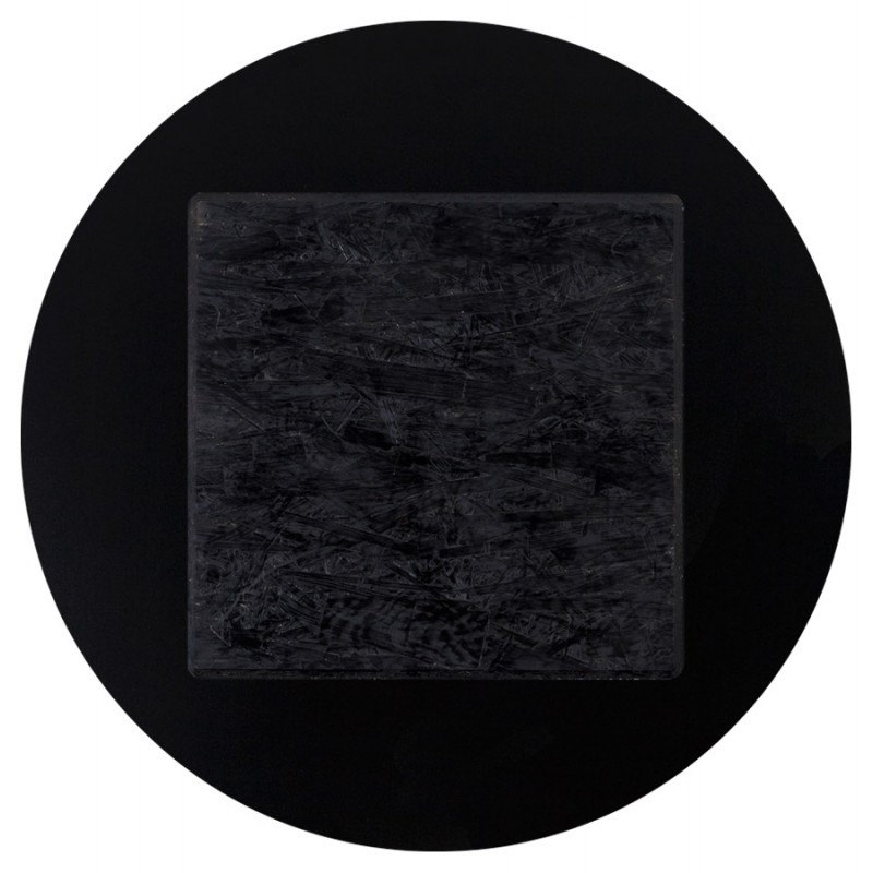 Plateau de table VERA rond en polymère (60cmX60cmX3cm) (noir) - image 17425