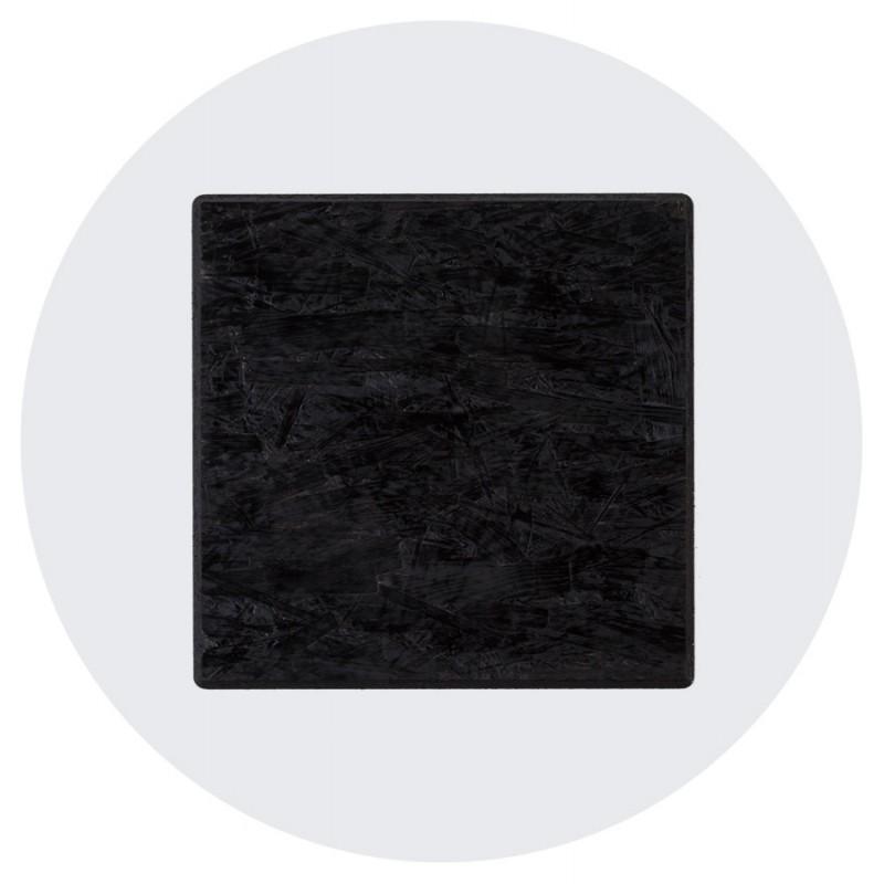 Plateau de table VERA rond en polymère (60cmX60cmX3cm) (blanc) - image 17429