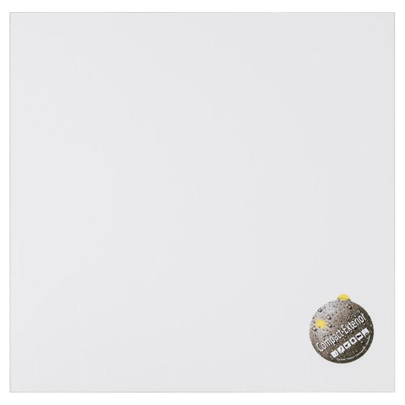 Plateau de table LILAS carré en polymère (68cmX68cmX3cm) (blanc)