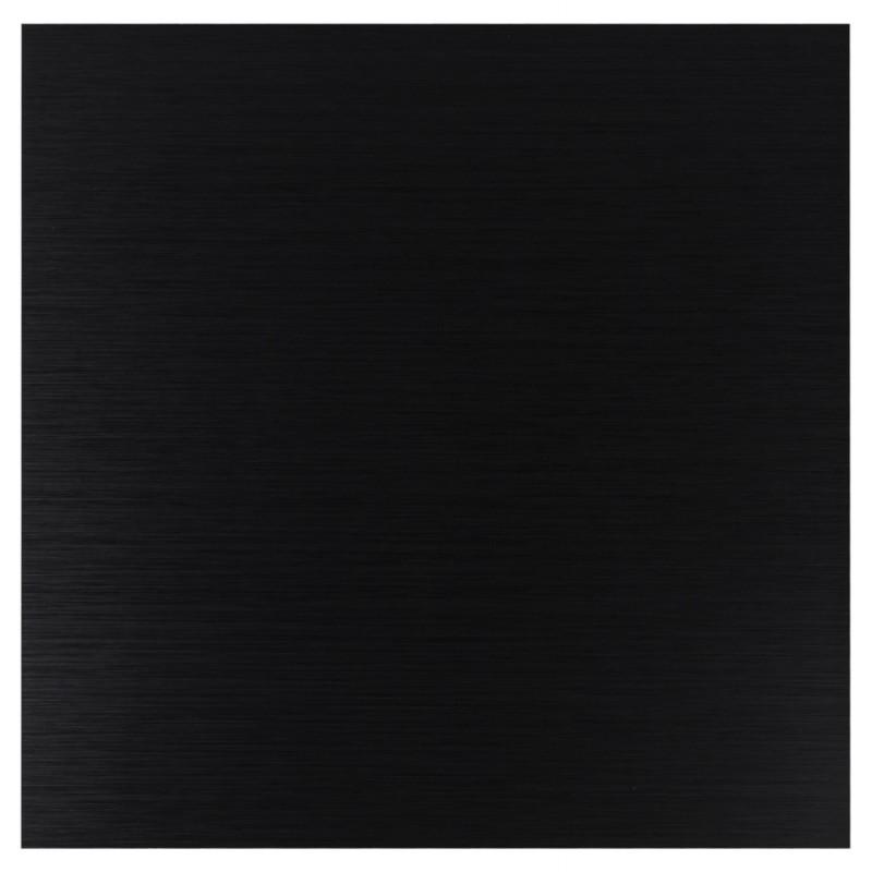 Plateau de table carré ROSA en bois ou dérivés (70cmX70cmX3cm) (noir) - image 17572