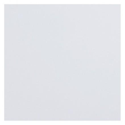 Piazza superiore del tavolo LEA quadrato laminato grande modello (70cmX70cmX2cm) (bianco)