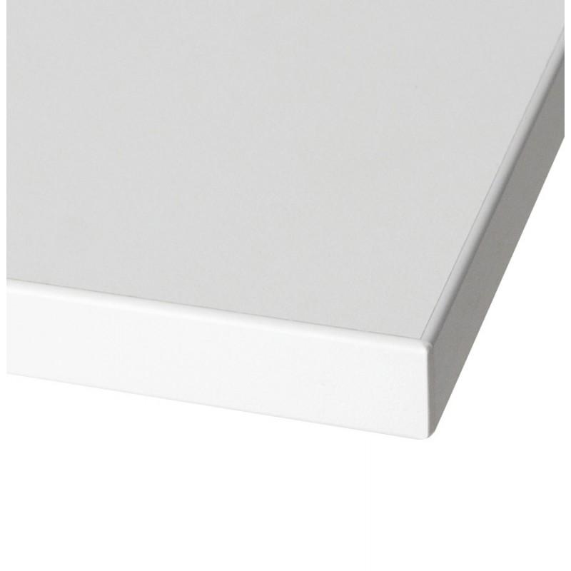 Plateau de table LEA carré en bois stratifié grand modèle (70cmX70cmX2cm) (blanc) - image 17602