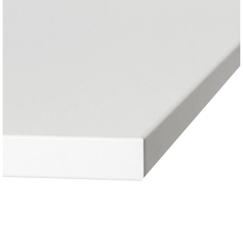 Plateau de table LEA carré en bois stratifié (60cmX60cmX2cm) (blanc) - image 17609