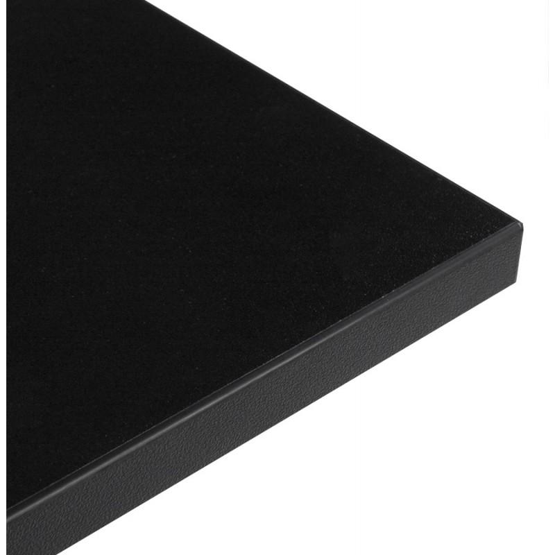 Plateau de table LEA carré en bois stratifié (60cmX60cmX2cm) (noir) - image 17612