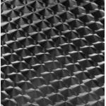 Plateau de table ISA carré en bois et acier inoxydable (70cmX70cmX2cm)