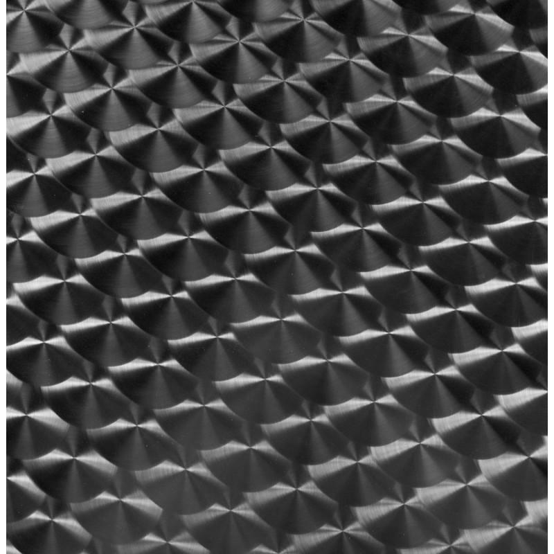 Plateau de table ISA carré en bois et acier inoxydable (70cmX70cmX2cm) - image 17618
