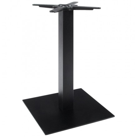 WIND square table leg without metal tray (50cmX50cmX73cm) (black)