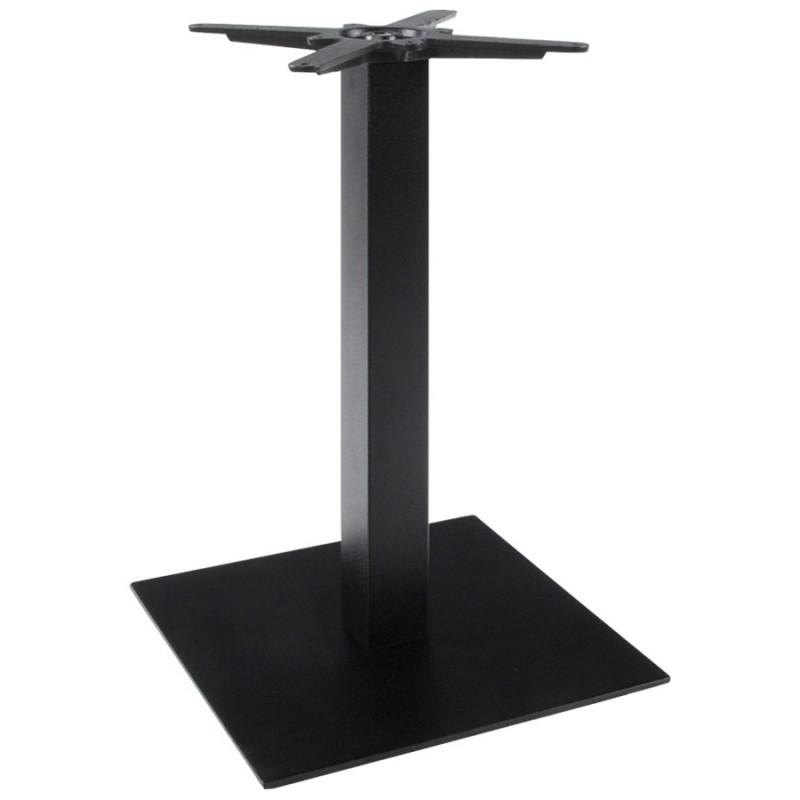 Pied de table WIND carré sans plateau en métal (50cmX50cmX73cm) (noir) - image 17657