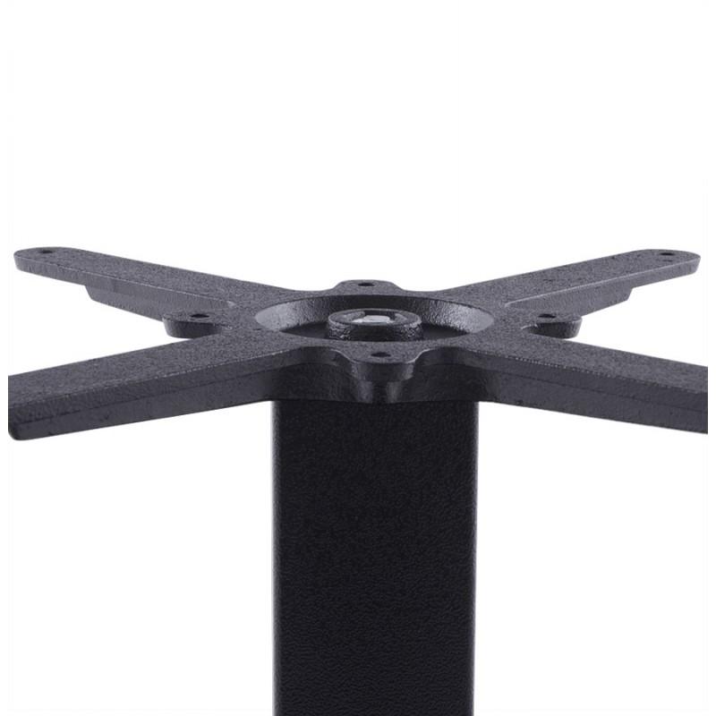 Pied de table WIND carré sans plateau en métal (50cmX50cmX73cm) (noir) - image 17659