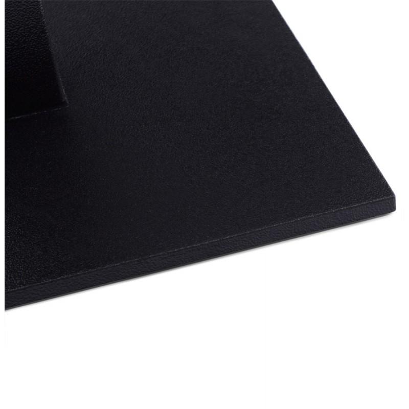 Pied de table WIND carré sans plateau en métal (50cmX50cmX73cm) (noir) - image 17661