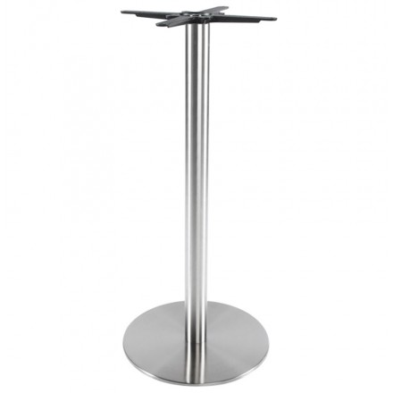 Round Table leg WIND without the tray of metal (50cmX50cmX110cm) (steel)