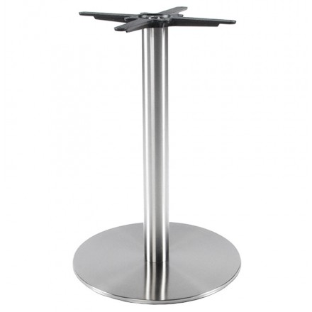 Round Table leg WIND without the tray of metal (50cmX50cmX75cm) (steel)
