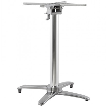 Table leg JANE shape Cross aluminium (62cmX62cmX74cm)