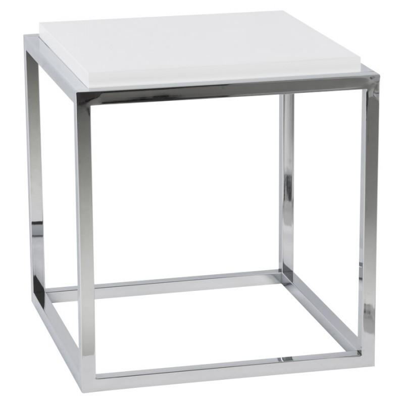 Table d'appoint KVADRA en bois ou dérivé (blanc) - image 17842