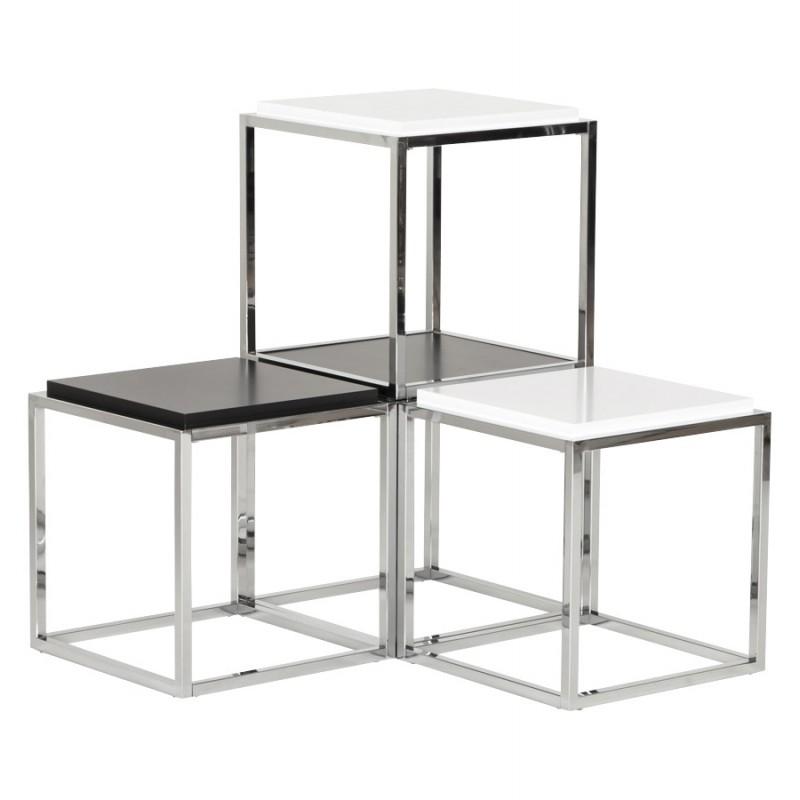 KVADRA tavolino in legno o derivato (bianco) - image 17848