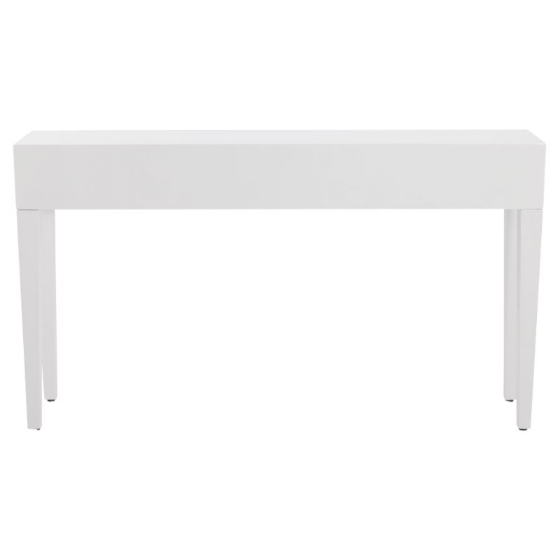 Table console TIPKA wood (MDF) covered with polyurethane (white) - image 17854