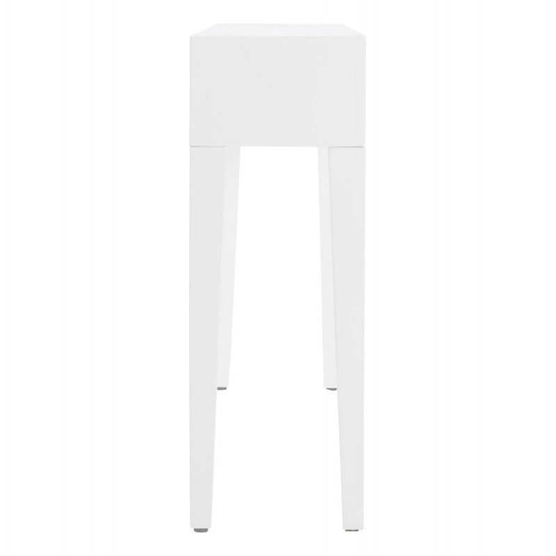 Table console TIPKA wood (MDF) covered with polyurethane (white) - image 17855