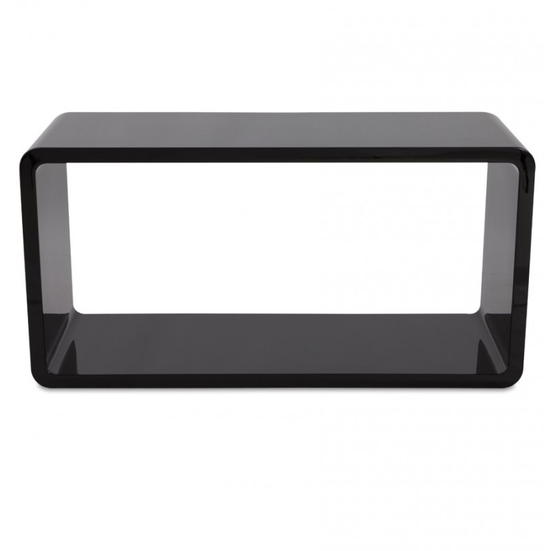 Table de salon RECTO en bois (MDF) laqué (noir) - image 17864