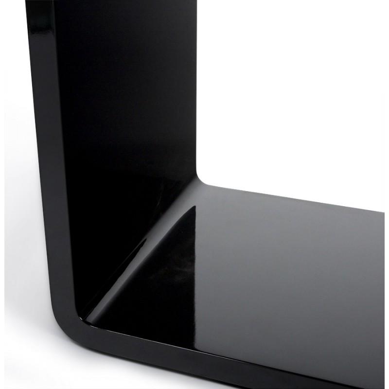 Uso polivalente Cubo de madera VERSO (MDF) lacado (negro) - image 17946