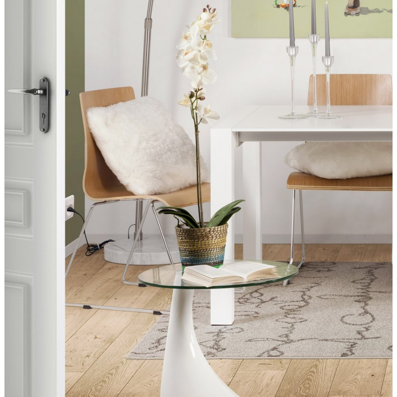Console or table TARN tempered fiberglass (white) - image 17961
