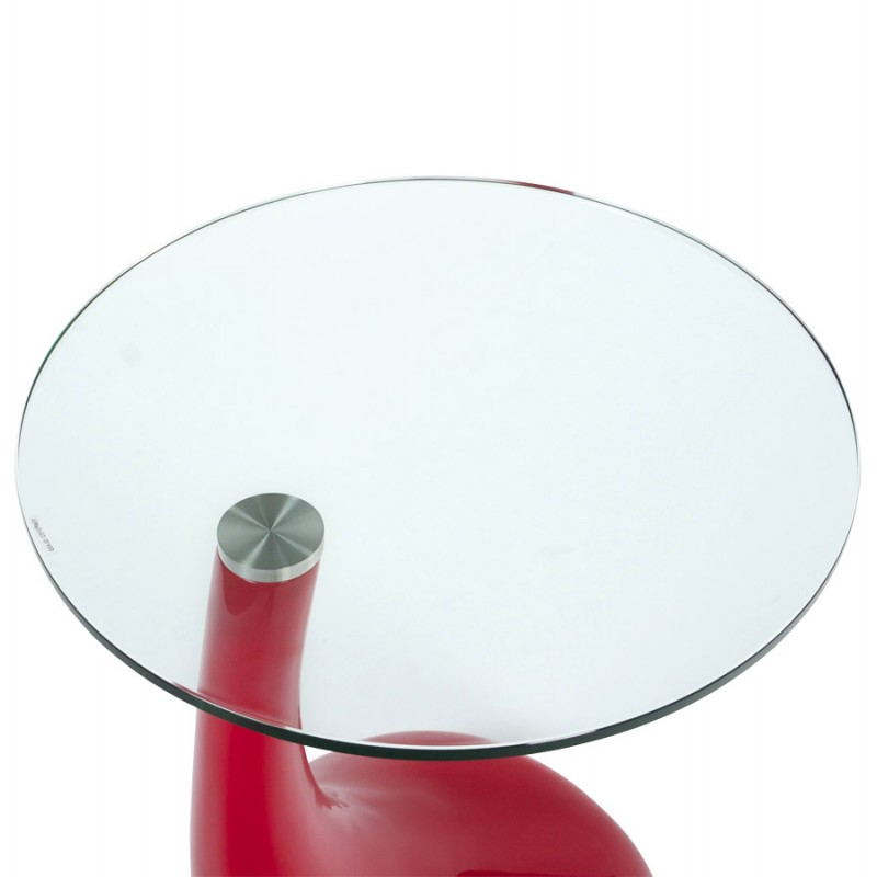 Console or table TARN tempered glass fibre (red) - image 17965