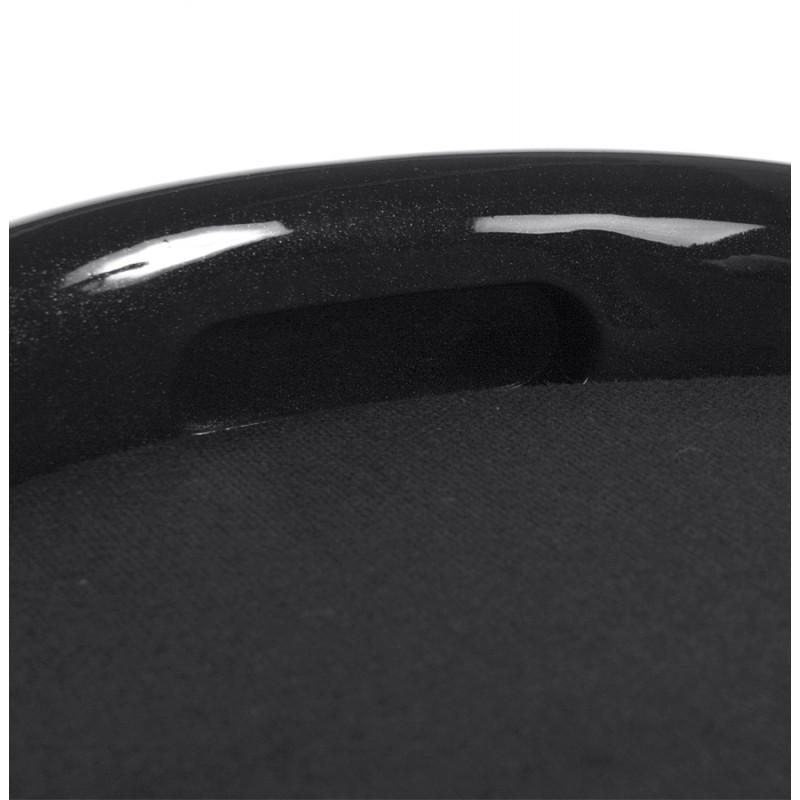 Tabouret coffre YONNE en ABS (matière plastique résistante) (noir) - image 18020