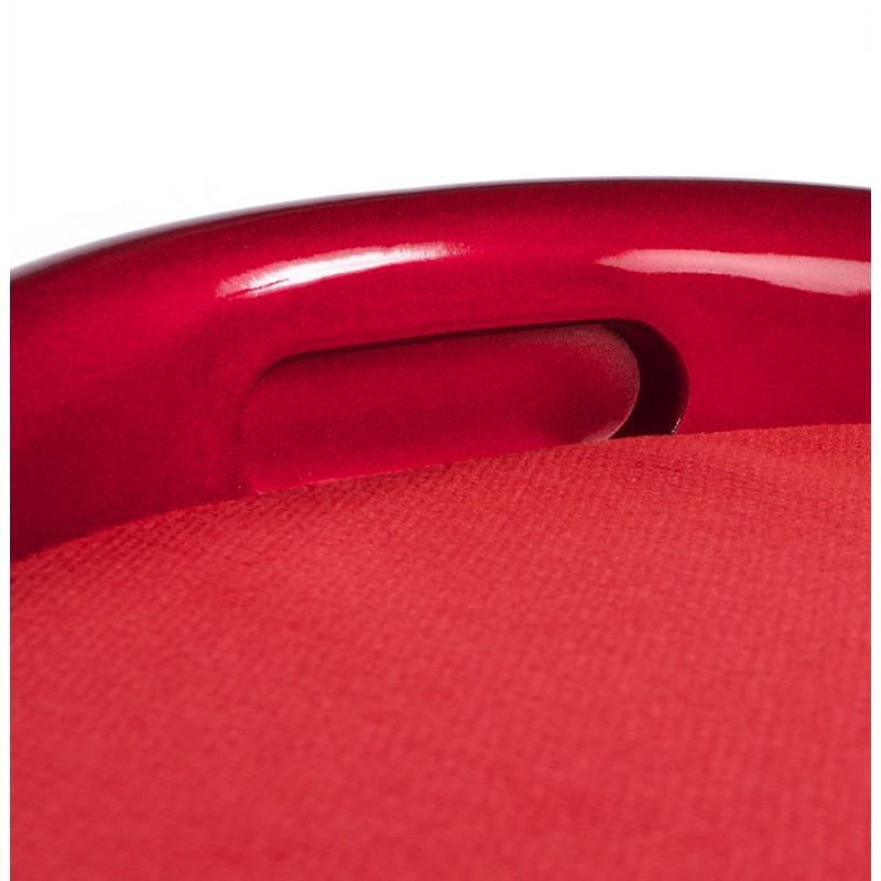 Tabouret coffre YONNE en ABS (matière plastique résistante) (rouge) - image 18035