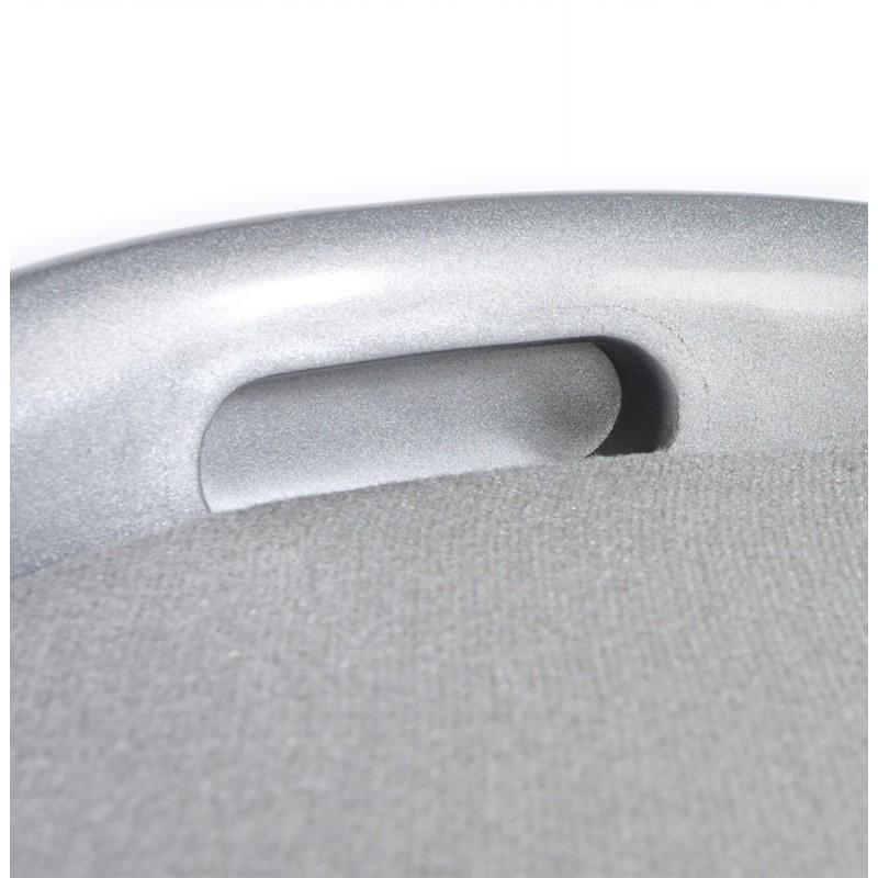 Tabouret coffre YONNE en ABS (matière plastique résistante) (argent) - image 18043