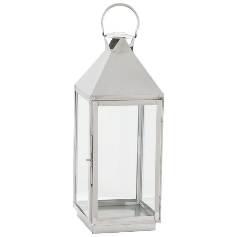 Lanterne DRONGO en aluminium (petit modèle) (argent)
