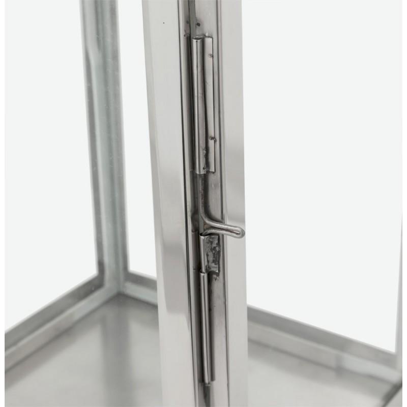 Lanterne DRONGO en aluminium (petit modèle) (argent) - image 18066