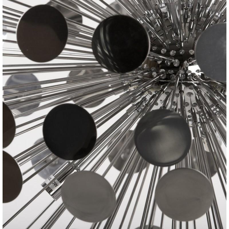 Lampe suspendue design CALAO en métal (chromé) - image 18091